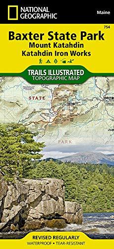 Katahdin Iron (Baxter State Park [mount Katahdin, Katahdin Iron Works] (National Geographic Trails Illustrated Map, Band 754))