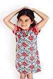 Mim-Pi Mädchen Kleid Mehrfarbig False 92 cm Gr. 146 cm, False