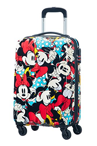 American tourister – Disney Legends – Maleta Spinner 55/20 Alfatwist 2.0, 55 cm, 36 L, 2.6 KG Multicolour (Minnie Comics)