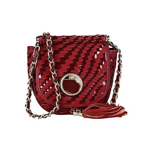 Cavalli Class - Sac porté épaule pour femme (C41PWCBU0012_060-RED) - Rouge