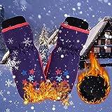 Guanti da Sci Inverno Isolamento Caldo Outdoor Antivento Impermeabile Neve Adattabile Sci Snowboard Triturazione per Bambini Antipioggia Leggero per Bambini E Bambini Ciclismo Escursionismo Camminare
