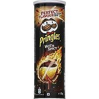 Pringles Biscuits apéritif Hot & Spicy La boite de 175g - Prix Unitaire - Livraison Gratuit Sous 3 Jours