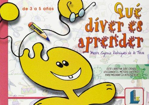Qué diver es aprender -para el alumno- (Laberinto infantil) - 9788484831341
