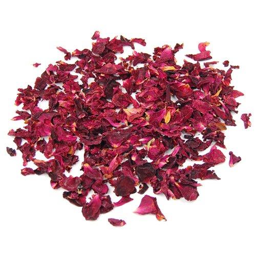 Sonline 1 sacchetto di secchi petali di rosa fiori naturali Tabella di cerimonia nuziale