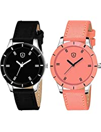 Drealex Analogue Multi-Colour Dial Girls and Women's Watch - DR152-01 (Set of 2)