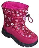 Naturino Rain Step Schuhe Stiefel Winterstiefel gefüttert wasserdicht Pink Bordeaux, Größe:31