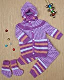 Baby Sweater With Legging , Cap and Sock...