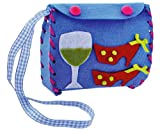 #10: MDF Fun and Creative Hobby DIY Decorative Hand-Bag Purse Making Kit for Children - Ages 8 Years + (Random Colors & Patterns)
