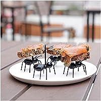 Rameng Spieße in süßer Ameisenform, Cocktailgabeln für Bar oder Party, 12 Stück