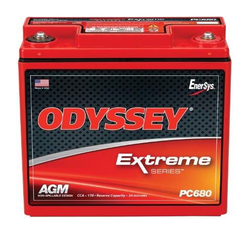 HAWKER ODYSSEY PC680MJ MOTORRAD BATTERIE - Die angegebenen Preise beinhalten 7,50 Euro Batteriepfand!