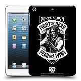 Head Case Designs Offizielle AMC The Walking Dead RPG Schwarz Weiss Daryl Dixon Biker Kunst Ruckseite Hülle für iPad Mini 1 / Mini 2 / Mini 3