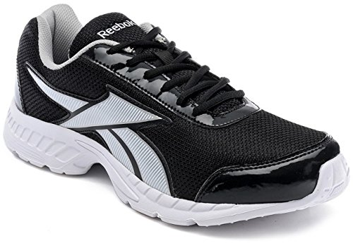 Reebok Men's Tec Encyst LP Black and medium grey Mesh Running Shoes - 10 UK  available at amazon for Rs.1448