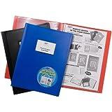 Tiger Porte-documents de présentation-Bleu-A4–vues 100 pochettes avec 200 vues)