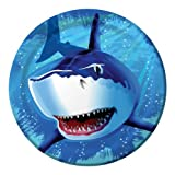 Creative Converting Shark Splash Round Dinner Plates, 8 - Best Reviews Guide