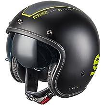 Sparco S0033402MNRGF Cafe Racer Abs Casco, Negro, M