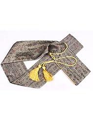 Japonés Shihan entrenamiento Bokken Espada Aikido Llevar caso japonés Samurai Espada katana espada bolsa bolsa oro/amarillo