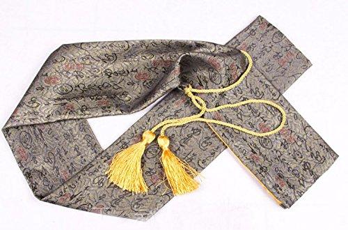 Japanische Shihan Training Bokken Schwert Aikido Tragetasche Japanische Samurai Schwert Katana Sword Tragetasche Tasche Gold/Gelb