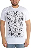 Crystal Castles - Mens Crimewaves Fitted T-Shirt