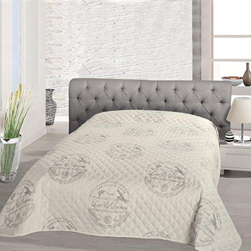Entzuckend Tagesdecke Bettüberwurf DREAMS / Für Einzelbett / Beige / 140x210 Cm