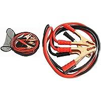 Takestop® Câbles de démarrage avec pinces 2000A - pour batteries de voiture, camping-car, camion, moto, en situation d'urgence