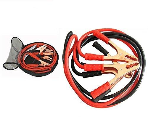 takestop® CAVI CON PINZA PINZE COLLEGAMENTO BATTERIA AVVIAMENTO 2000 AMP AUTO CAMPER EMERGENZA CAMION MOTO