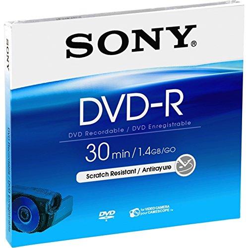 Sony 3Stück Minis DVD-R 8cm 30min 1,4GB für für handicam 1,4 Gb Mini-dvd