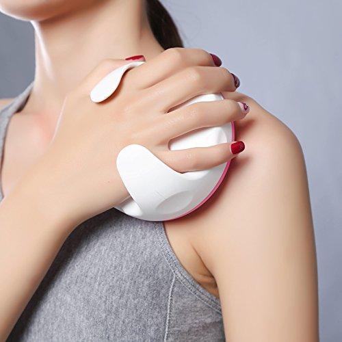 51Mla31dtvL - Lunata® Rullo massaggiatore anti cellulite, spazzola per massaggi per combattere la pelle a buccia d'arancio
