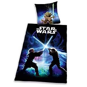 Herding 4472/45.050 Linge de Lit Star Wars 100 % Coton