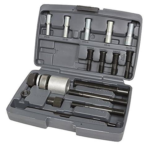 Lisle 53760 Harmonic Balancer Installer Kit (12 Adapters)