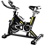 WiaLx Heimfitnessgeräte Mute Indoor Spinning Bike Home Fitness Workout Adjustable Fitness-Bike Indoorcycling Bikes