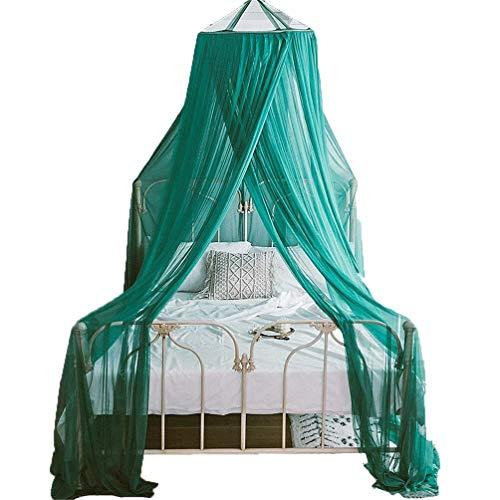 MXK Moskitonetz Betthimmel Für Kinder Fliegen Insektenschutz Indoor/Outdoor Dekorativ, Prinzessin Style Lace Trim Gaze Trim Gaze