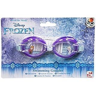 Disney Mädchen Jungen Kinder Eiskönigin Schwimmbrille für Kinder ab 3Jahren Frozen - Purple