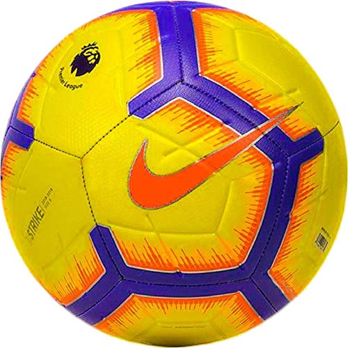Nike Premier League Football Strike FA18 SC3311 101 White S5 5 gelb (Nike T-shirt Outlet)