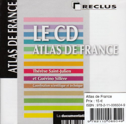 Le CD Atlas de France