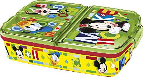 Mickey Mouse Sandwichera multiple de 'Watercolors' - Bolsas térmicas