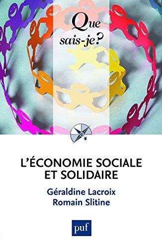 L'économie sociale et solidaire par Géraldine Lacroix