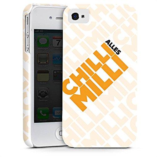 Apple iPhone X Silikon Hülle Case Schutzhülle LPmitKev Fanartikel Merchandise Alles Chilli Milli Weiss Premium Case glänzend