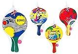 Globo Toys Globo–3761224x 38x 0,8cm 4Sortiert Sommer Strand Schläger mit Ball