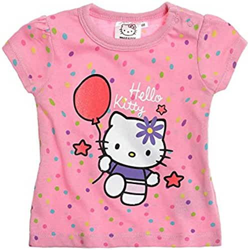 Hello Kitty Babies Camiseta manga corta - fucsia