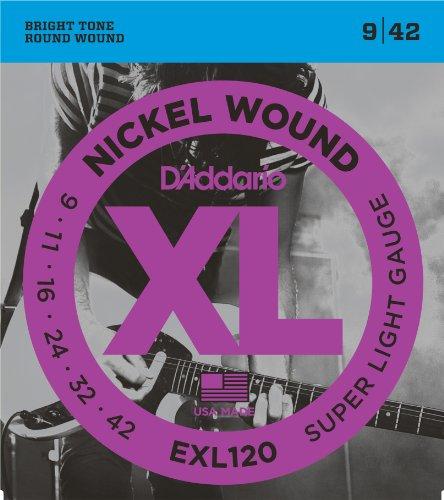 D'Addario EXL120 - Niquel