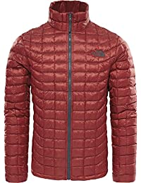 The North Face T9382C619. M Chaqueta con Cremallera Thermoball, Hombre, Cardinal Red, M