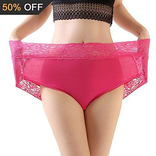 58e75e55aa085 C'est la mode! : Imixcity Femme Culottes Modal Grande Taille Haute ...