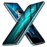 Peakally Cover per Huawei Honor 20 PRO, Trasparente Morbida TPU Silicone Ultra Sottile Custodia...