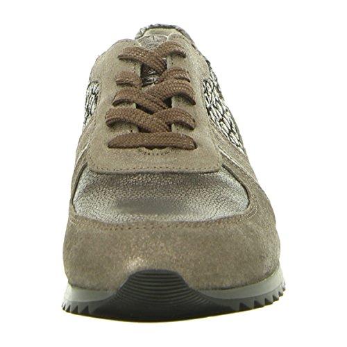WALDLÄUFER HURLY 370004/400001 femmes Chaussures à lacets peltro