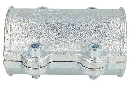 Armaturen Temperguss-Dichtschelle DS, 48,3 mm, 1 1/2 Zoll, 01.252.28.05