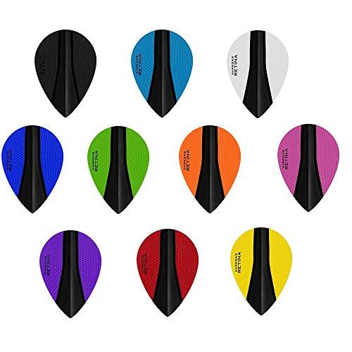 3 Sets 3 x SETS DIMPLEX Darts Flights Union schwarz Standard