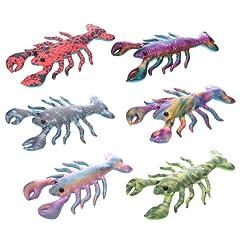 Idea Regalo - Grande animale di sabbia a forma di Aragosta colorata Fermaporta Fermacarte
