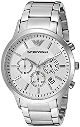 Emporio Armani Analog White Dial Mens Watch - AR2458