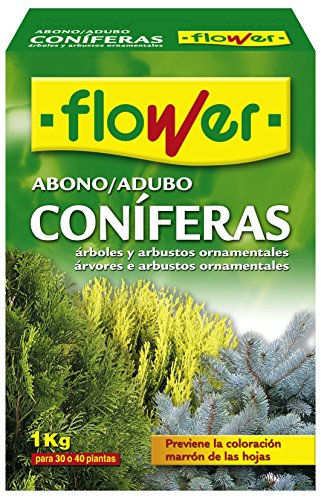 Flower 10518 10518-Abono coníferas y arbustos, 1 kg, No Aplica, 7x18x25.5 cm