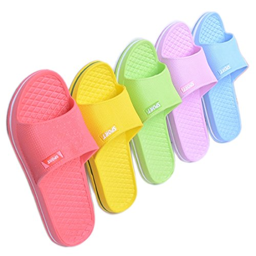 Sapatos Unisexo Sapatos Chuveiro Verde Yuhuawyh Mulheres De Banho Homens Sandálias ZTnzqCzxd
